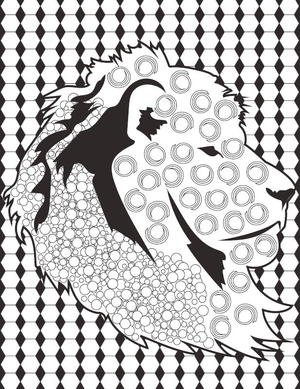 with this lion coloring book page you can show off your coloring skills with pride - Coloring Book Sheets
