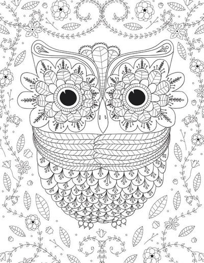 large coloring pages for adults - photo#19