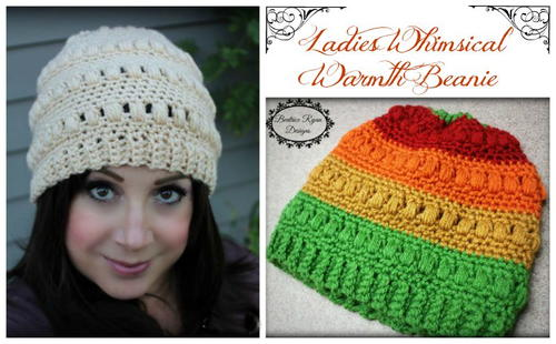 Whimsical Warmth Crochet Beanie_2