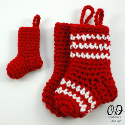 34 Crochet Christmas Stockings Allfreecrochet