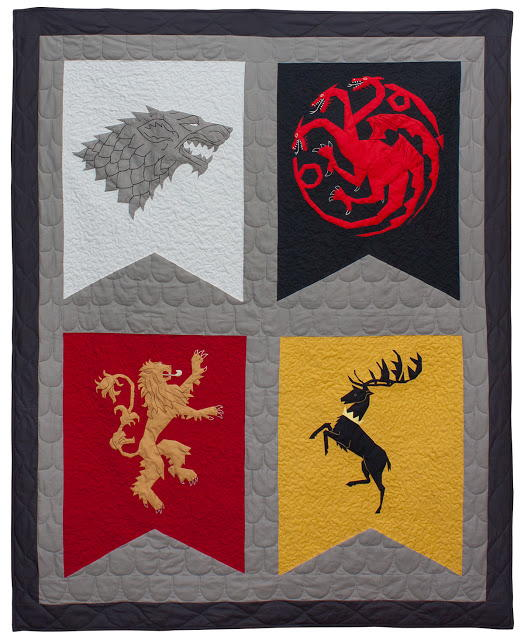 Epic Game Of Thrones Quilt Favequilts Com