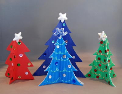 Simple Paper Christmas Tree