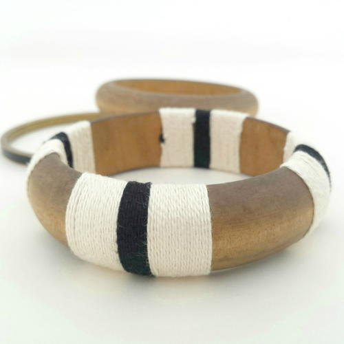 Yarn Wrapped Bangle