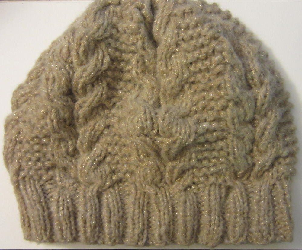 Horseshoe slouchy cable hat favecrafts bankloansurffo Image collections