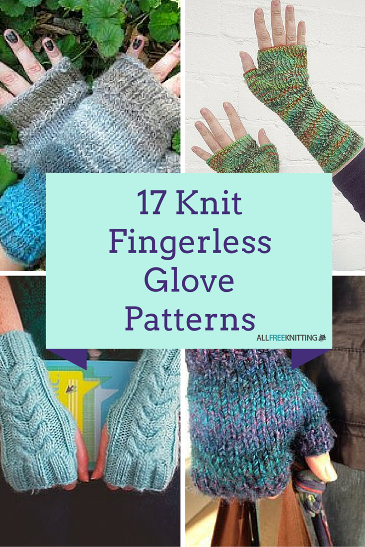 17 knit fingerless glove patterns allfreeknitting bankloansurffo Choice Image