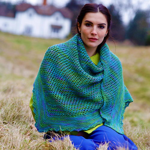 Madison Free Shawl Knitting Pattern Allfreeknitting