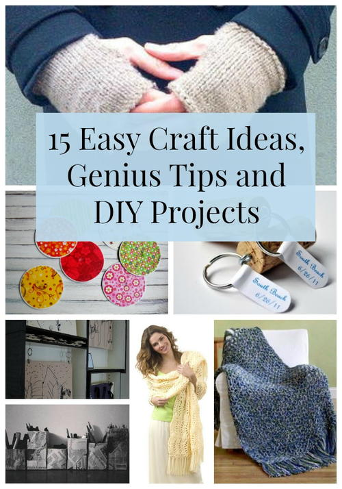 3 Easy Diy Storage Ideas For Small Kitchen: 15 Easy Craft Ideas, Genius Tips And DIY Projects