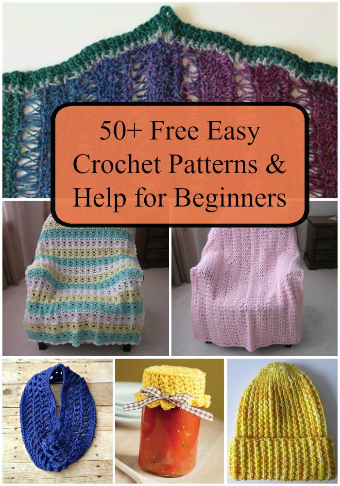 Easy Knitting Crafts For Beginners : Free easy crochet patterns and help for beginners