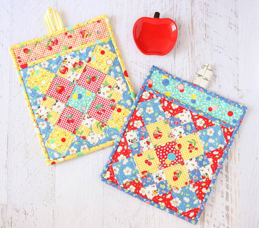 How to Make Potholders: 25+ Hot Pad Patterns | AllFreeSewing.com : potholder quilt patterns free - Adamdwight.com