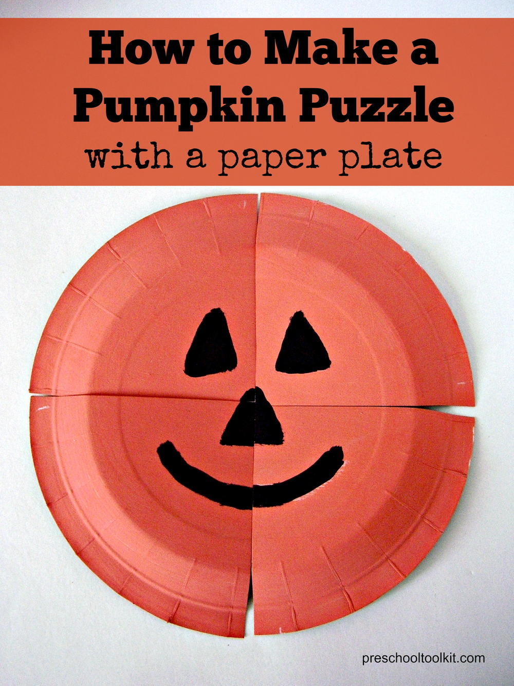 How to Make a Pumpkin Puzzle
