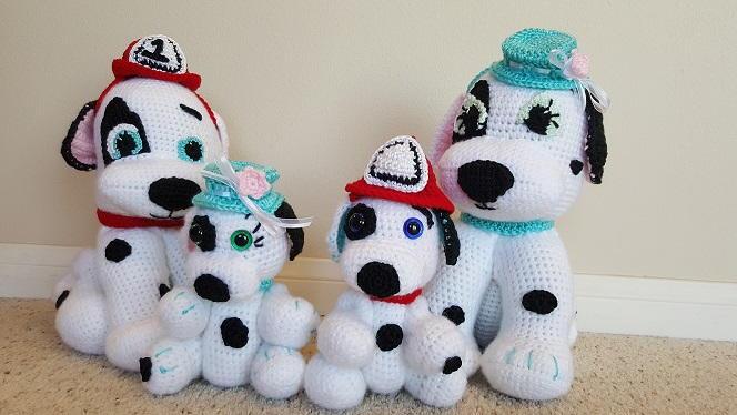 Crochet Dalmation Amigurumi Dog Pattern FaveCrafts.com