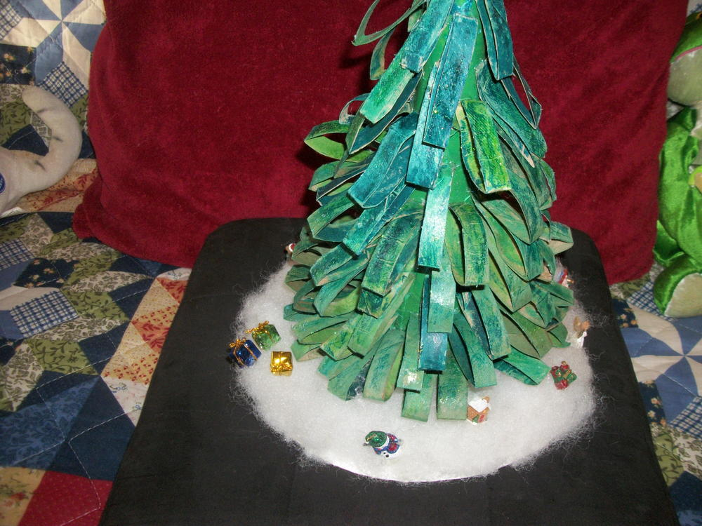 Large Felt Christmas Tree