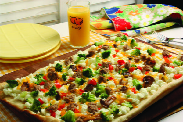 Sunrise Breakfast Pizza