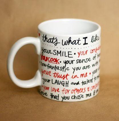 Sharpie Mug Valentine Gift Allfreeholidaycrafts Com