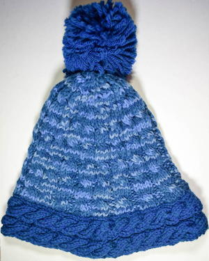 On The Slopes Knit Hat Pattern