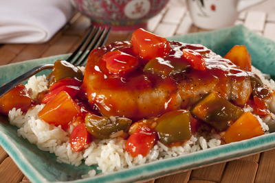Sweet and Sour Pork Chops