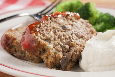 Sweet  Spicy Meat Loaf