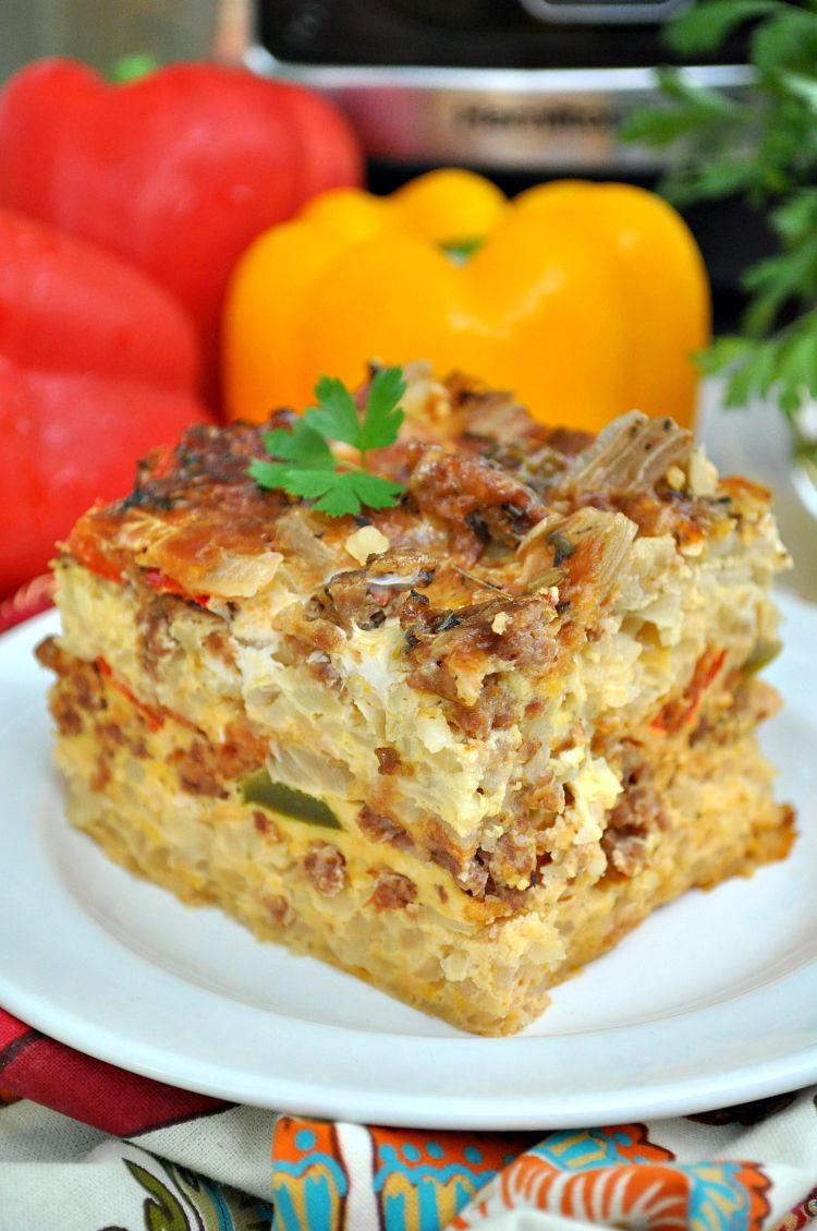 Make ahead italian breakfast casserole for Italian breakfast