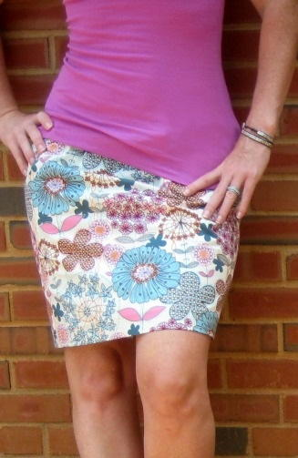 Simple 15 Minute Skirt