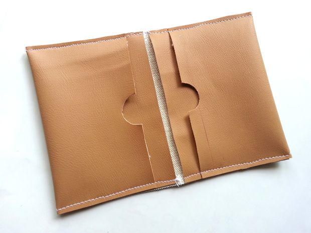 DIY Simple Leather Wallet