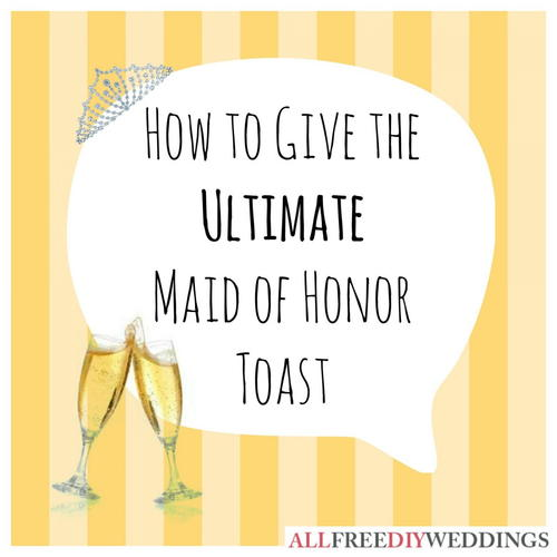 Maid of Honor Speeches Examples and Tips for Success