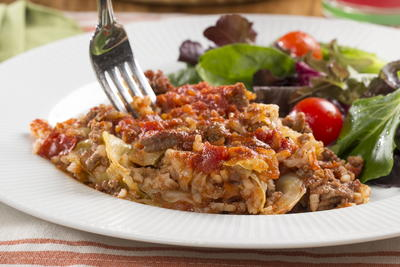 Unstuffed Stuffed Cabbage Casserole