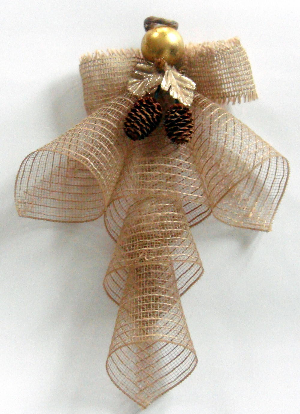 Mesh Ribbon Christmas Angel Favecrafts Com