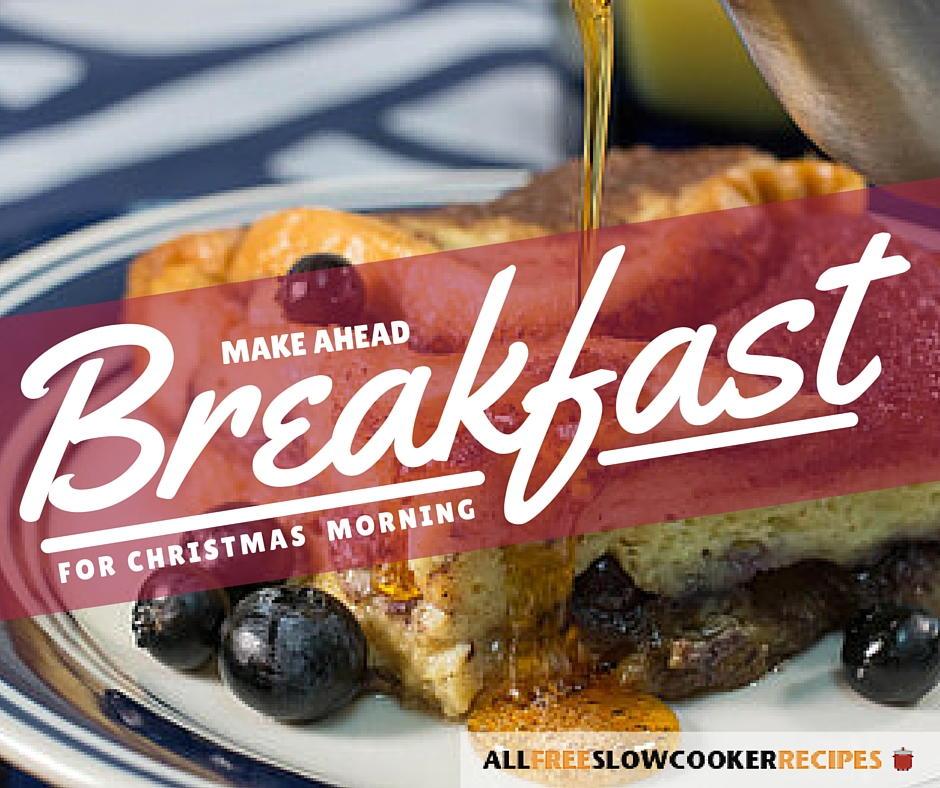25 warm and wonderful make ahead breakfast recipes for for Slow cooker breakfast recipes for two