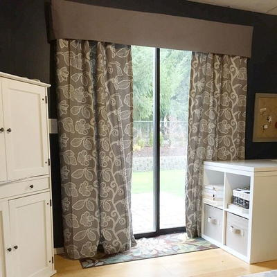 How to Make Chic Insulated Curtains