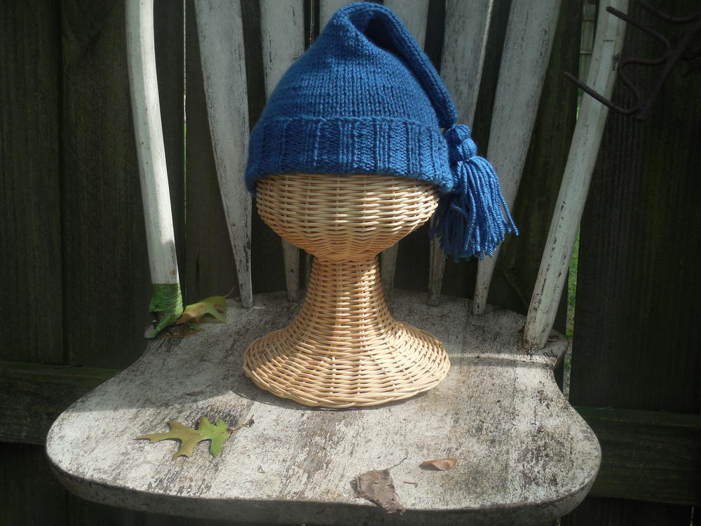French Trapper Knit Hat AllFreeKnitting.com