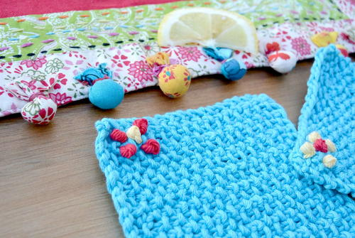 Cutie Seed Stitch Coaster Pattern Favecrafts