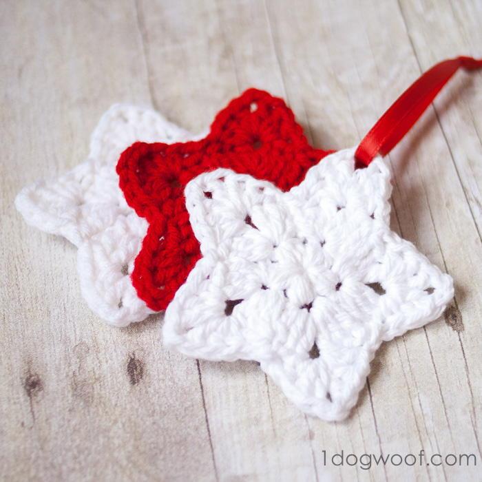 Christmas Star Crochet Ornament Pattern Favecrafts
