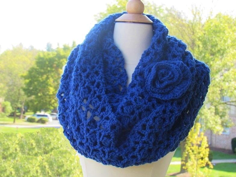 26 Crochet Infinity Scarf Patterns Allfreecrochet