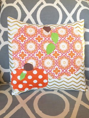 Quick and Simple Pumpkin Pillow