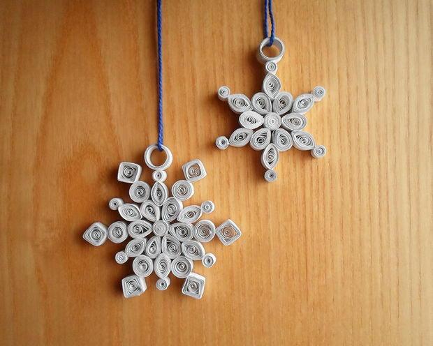 Winter Swirls Snowflake Ornament Allfreepapercrafts Com