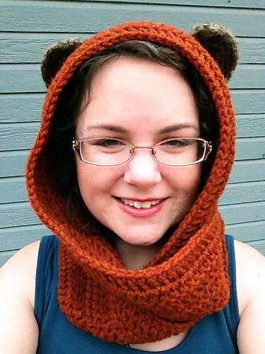 Ewok Inspired Crochet Scoodie | AllFreeCrochet.com