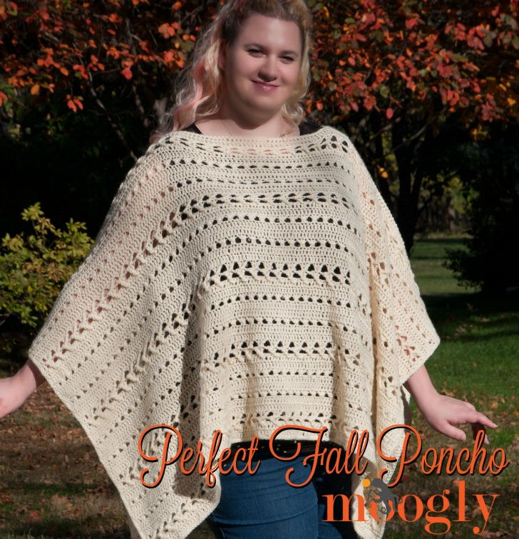 62 Crochet Poncho Patterns | AllFreeCrochet.com