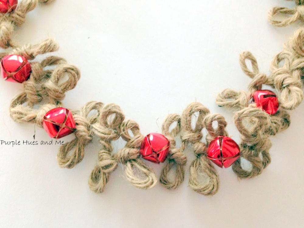 loopy jute twine diy christmas garland favecraftscom