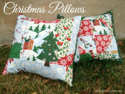 One Hour Yuletide Pillows