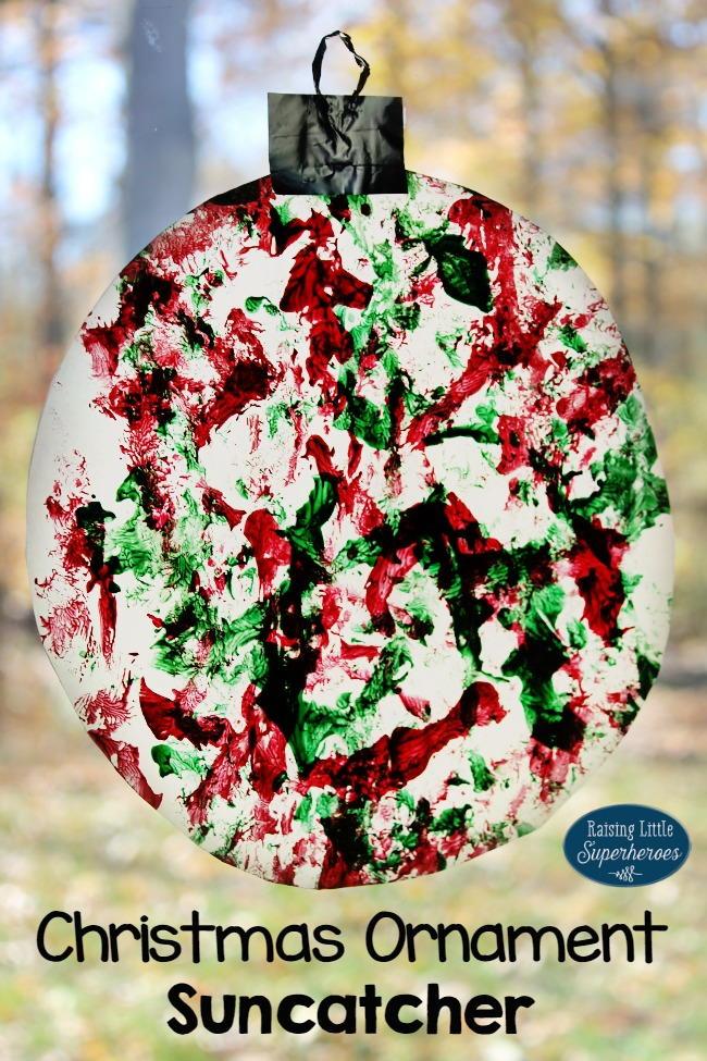 Christmas Ornament Suncatcher Allfreekidscrafts Com