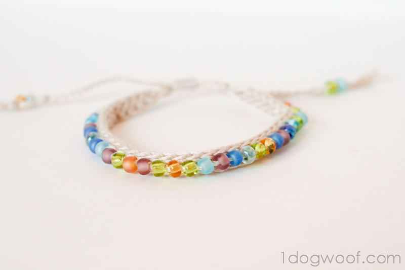 Beaded Friendship Bracelet | FaveCrafts.com
