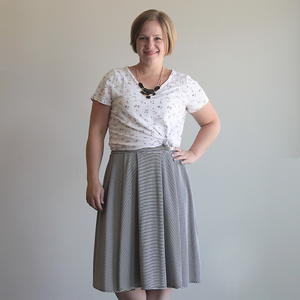 Pleated Midi Skirt Pattern