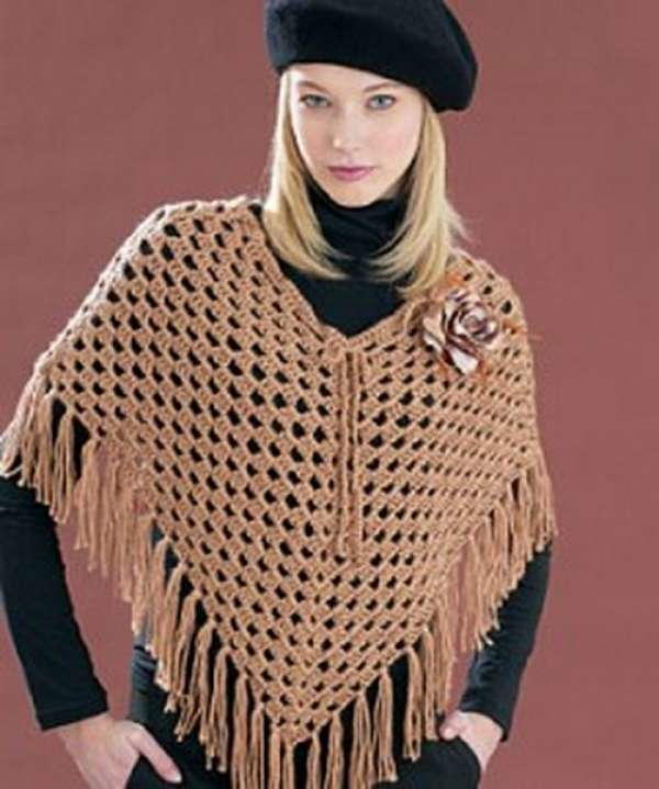 37 Free Crochet Poncho Patterns And Capelets Favecrafts