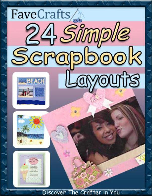 24 Simple Scrapbook Layouts Free Ebook Favecrafts