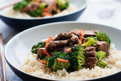 The Easiest Beef and Broccoli