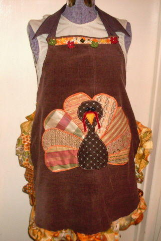 Scraptacular Turkey Time Apron