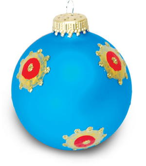 Bejeweled Ornament