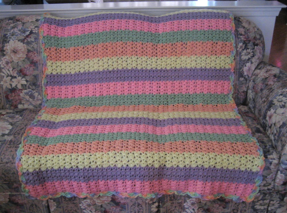 Shell Stitch Variation Afghan Allfreecrochetafghanpatterns