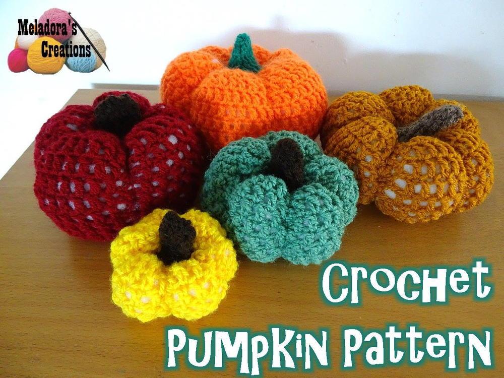 Super crochet pumpkin pattern favecrafts
