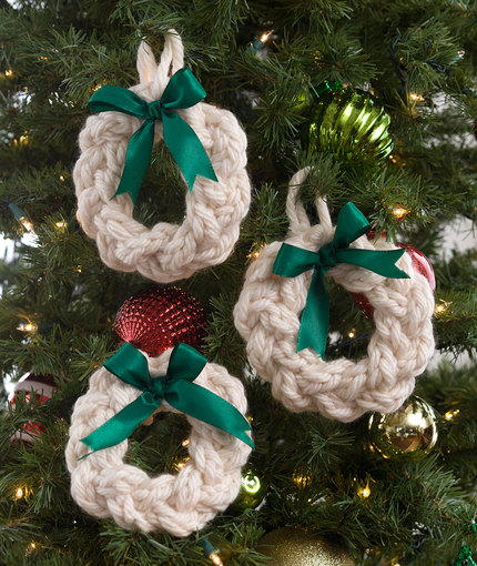 Jumbo Wreath Ornaments